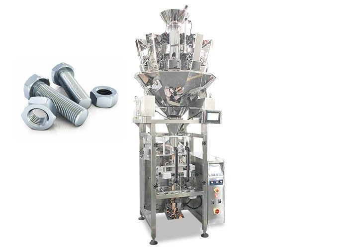 2000ml Volume Screw / Nail Automated Packing Machine With Printing Function